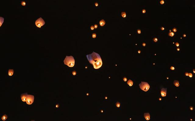 LAMPIONI ŽELJA OBASJALI NEBO IZNAD BANJALUKE