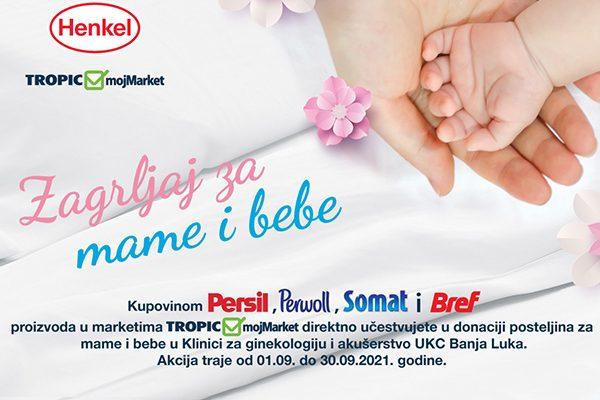 Projekat Zagrljaj za mame i bebe